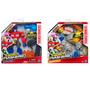 2 Transformers Hero Mashers Optimus Prime + Dinobot Slug