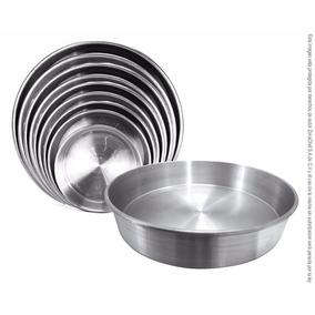 Molde Para Pastel Redondo De Aluminio 28 Cm