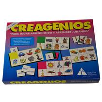 Lotería Creagenios - De 3 A 5 Años - Imagen Palabra