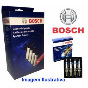 Kit Cabo Velas + Velas Original Bosch Vw Santana 1.8 96/06