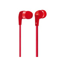 Acteck Audifonos In Ear To Go Cable Plano Ai-001 Rojos