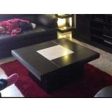 Mesa Centro Mueble Minimalista Decorativa Moderno