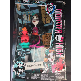 Monster High Skelita Calavera Escuela De Arte Envío Gratis