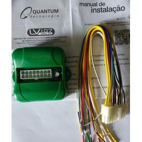 Modulo Vidro Eletrico Quantum Lv107 Compact Minifit + Plug