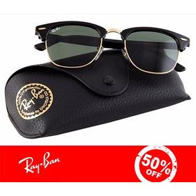 Oculos Ray-ban Clubmaster Rb3016 Original 50%off + Brinde