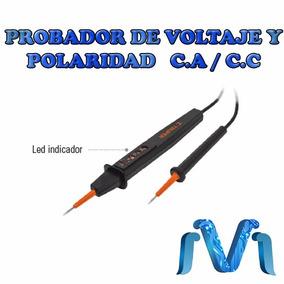 Probador De Voltaje Y Polaridad C.a. / C.c.