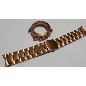 Pulseira Guess Aço Dourada 22mm - Nova