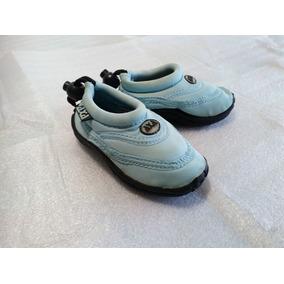Zapatos Playeros Surf Piscina Ríos Footwear Niños Número 23