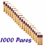 1000 Par Hashi Bambu Lacrado Embalagem Comida Chinesa Hachi8