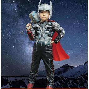 Disfraz Thor Musculoso Avengers Vengadores Dc Halowen Heroes