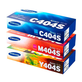 Toner Original Clt-k404s C,m,y Samsung Para Sl-c430w, 480w