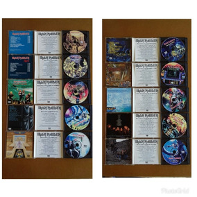 Cd Iron Maiden - Coleção Castle Duplos 1995 Bônus Disc