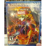 Ultimate Marvel Vs Capcom 3 Ps Vita / Sellado + Garantia