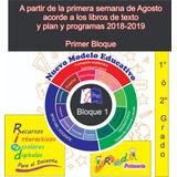 Planeaciones Primaria Primero Y Segundo Grado 218-2019