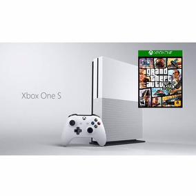 Xbox One S 500gb + Gta 5 Parcela Sem Juros Frete Grátis