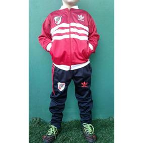 Conjunto Deportivo River 2017 Modelo Retro Nenes Chicos Kids
