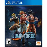 Jump Force Ps4 Juego Fisico Nuevo Sellado Canje Sevengamer