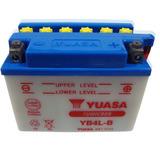 Bateria Yuasa Yb4l-b Scooter 50 Cc Yb4lb - En Fas Motos