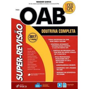 Super-revisão Oab - Doutrina Completa - 7ª Ed - 2017