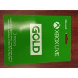 Membresía Xbox Live 3 Meses