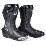 Bota Moto Forza Long Rider Titanium N/ Texx/alpinestars/puma