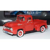 1:32 Ford F100 Pick Up 1956 Rojo Signature Models