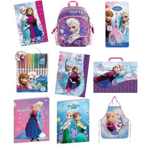 Kit Completo Material Escolar Frozen Disney