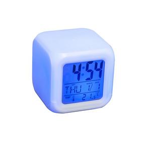 Reloj Morph Diseño Led Cambia De Color