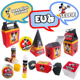 Kit Festa Completa Mickey Para 50 Pessoas - Frete Grátis!