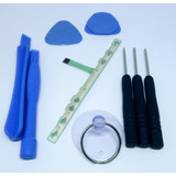 Flex Home Membrana Conductor De Botones Psp 2000 + Kit
