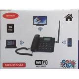 Teléfono Rural 3g Con Wifi Para 5 Usuario +chip Telcel