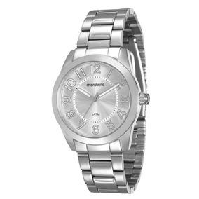 Relógio Feminino Mondaine Pulseira De Aço - 94838l0mvna2