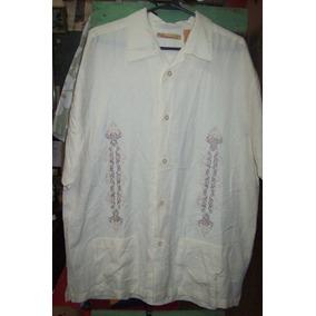 Camisa Hawaiana Guayabera Cubavera Bowling Importada G 021