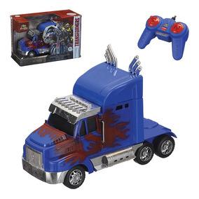Caminhão Transformers Com Controle Remoto - Frete Grátis*