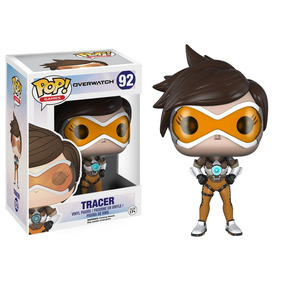 Funko Pop Games - Tracer - Overwatch 92 - Novo