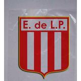 Set X 3 Escudos Stickers Vinilo 10cm Estudiantes La Plata