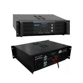 Amplificador Oneal Op5500 Potencia 500w Rms + Cabos