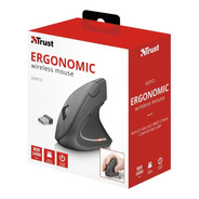 Mouse Ergonomico Trust Verto Wireless Diseño Vertical Pc Usb