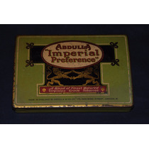 Antigua Caja De Cigarrillos Abdulla Imperial Preference