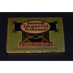 Antigua Caja De Cigarrillos Abdulla Imperial Preference