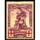 Col 10900 Bélgica 128 Monumento Revolução 30 Cruz Vermelha N