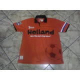 Polera Camiseta Holanda Mundial Brasil 2014