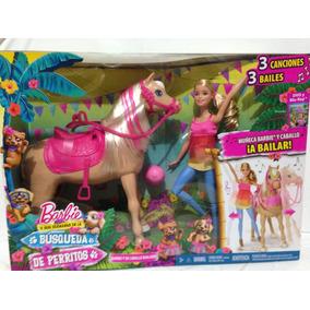 Barbie Y Su Caballo Bailarin Mattel Nuevo 55 Dmc30