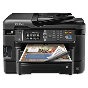 Epson Wf3640 Tecnologia Precision Copiadora Escaner Fax