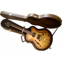 Estojo Case Guitarra Semi Acústica Extra Luxo Ibanez,gibson