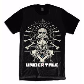 Undertale Jogo Game Geek Rpg Camiseta Personalizada