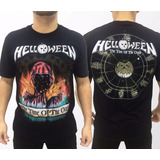 Camiseta Consulado Do Rock E1231 Helloween Camisa Banda