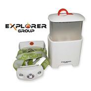 Linterna Explorer Group Hl-005 Cree Led 2en1