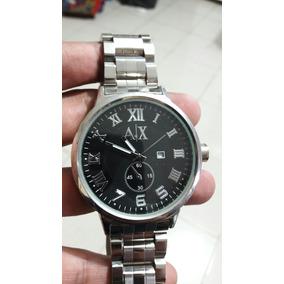 Reloj De Caballero De Fantasia Armani Xchange Grande Y Bonit