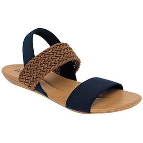 5ee157f79498e Huarache Gladiador - Zapatos de Mujer Azul marino en Mercado Libre ...